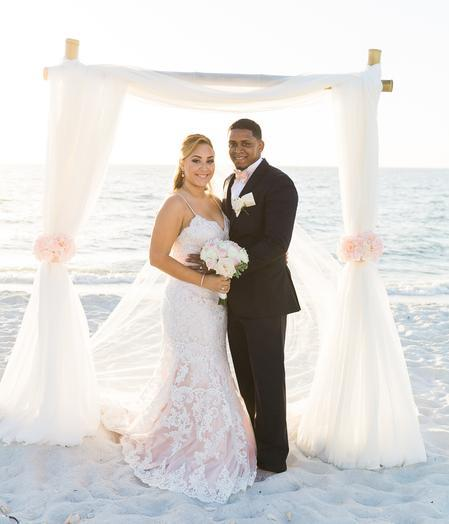Tampa/ Clearwater Barefoot Beach Weddings